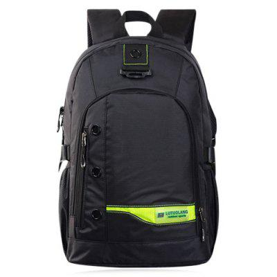 Pad Shoulder Straps Nylon Backpack