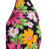 Halter Floral Padded Tankini Set - FLORAL