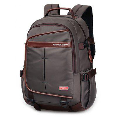 Casual Pad Shoulder Straps Nylon Backpack
