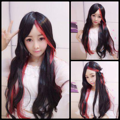 Harajuku Long Straight Centre Parting Cosplay Synthetic Wig