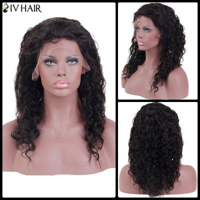 Siv Hair Long Curly Lace Front Human Hair Wig