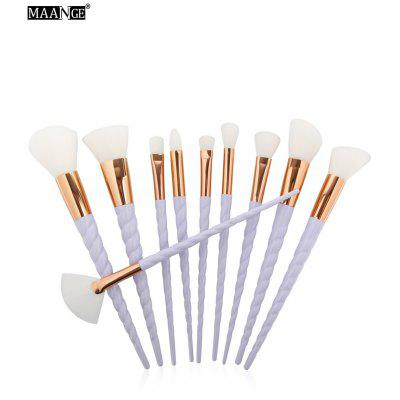 MAANGE Nylon Unicorn Makeup Brushes Set
