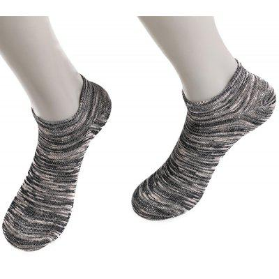 Elastic Knitted Ankle Socks