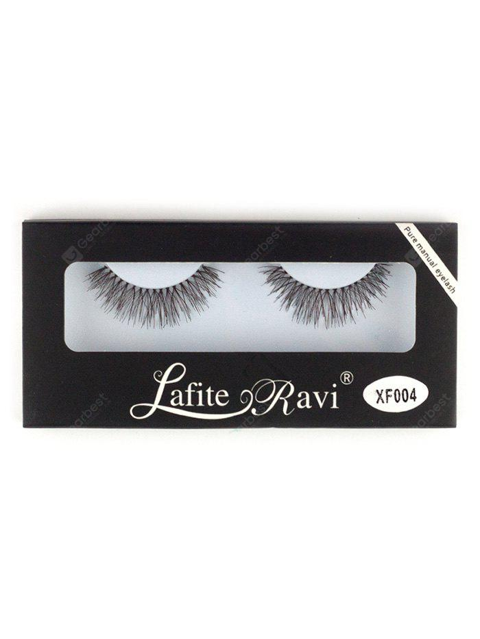 Artificial Crisscross Eyelashes with Glue