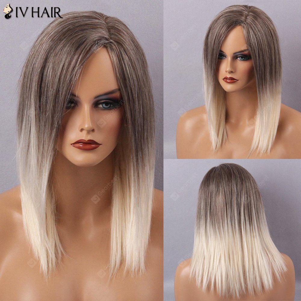 Siv Hair Long Straight Side Part Capless Human Hair Wig