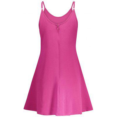 Spaghetti Strap A Line Skater DressWomens Dresses<br>Spaghetti Strap A Line Skater Dress<br><br>Dresses Length: Mini<br>Material: Polyester<br>Neckline: Spaghetti Strap<br>Occasion: Causal<br>Package Contents: 1 x Dress<br>Pattern Type: Solid Color<br>Season: Summer<br>Silhouette: A-Line<br>Sleeve Length: Sleeveless<br>Style: Casual<br>Weight: 0.2300kg<br>With Belt: No