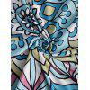 Patterned Summer Beach Throw - COLORMIX