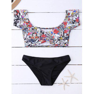 Floral Off The Shoulder Bikini