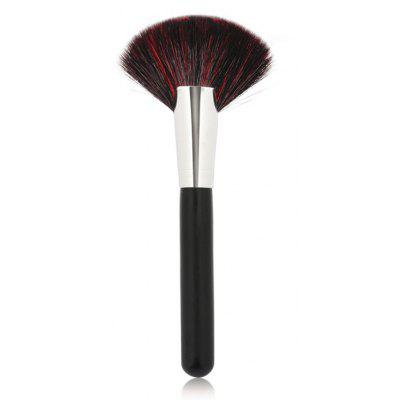 Sectorial Goat Hair Fan Brush