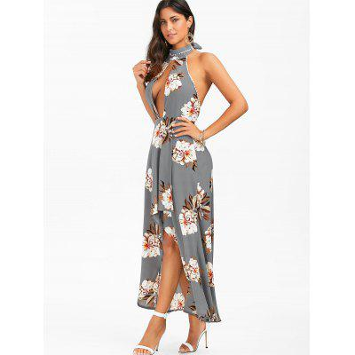 Halter Floral Open Back High Low DressWomens Dresses<br>Halter Floral Open Back High Low Dress<br><br>Dresses Length: Ankle-Length<br>Embellishment: Backless<br>Material: Polyester<br>Neckline: Halter<br>Package Contents: 1 x Dress<br>Pattern Type: Floral<br>Season: Summer<br>Silhouette: Asymmetrical<br>Sleeve Length: Sleeveless<br>Style: Sexy &amp; Club<br>Weight: 0.4300kg<br>With Belt: No