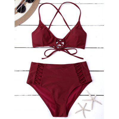 Lace Up Multi Way Bikini
