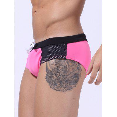 Lace Up Color Block Panel Bikini SwimwearMens Swimwear<br>Lace Up Color Block Panel Bikini Swimwear<br><br>Gender: For Men<br>Material: Polyester<br>Package Contents: 1 x Bikini Swimwear<br>Pattern Type: Solid<br>Swimwear Type: Two-Pieces Separate<br>Waist: Natural<br>Weight: 0.0770kg