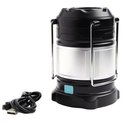 4 Modes Outdoor Rechargeable Collapsible LED Camping Lantern