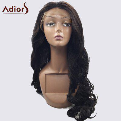 Adior 180 Density Lace Front Centre Part Long Body Wave Synthetic Wig