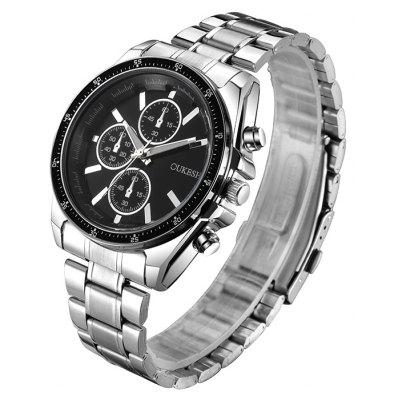 OUKESHI Alloy Strap Wrist Watch