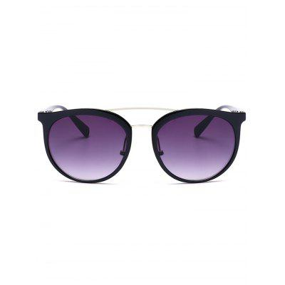 Ombre Anti UV Metal Cambered Crossbar SunglassesStylish Sunglasses<br>Ombre Anti UV Metal Cambered Crossbar Sunglasses<br><br>Frame Color: Multi-color<br>Frame material: Other<br>Gender: For Unisex<br>Group: Adult<br>Lens height: 5.1CM<br>Lens material: Resin<br>Lens width: 5.7CM<br>Nose: 2.1CM<br>Package Contents: 1 x Sunglasses<br>Style: Fashion<br>Temple Length: 13.0CM<br>Weight: 0.0840kg