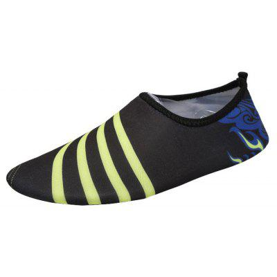 Striped Quick Dry Skin Shoes