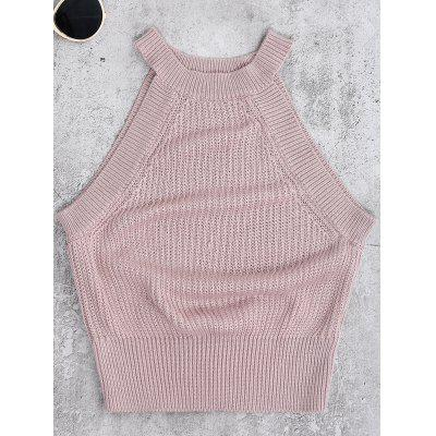 Round Neck Knitted Top