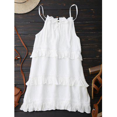 Ruffle Slip Summer Dress