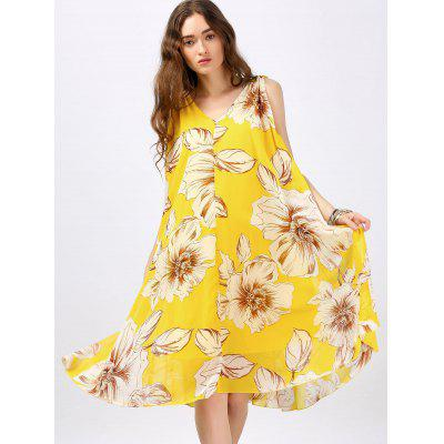 Bohemian Floral Print Swing DressWomens Dresses<br>Bohemian Floral Print Swing Dress<br><br>Dresses Length: Knee-Length<br>Material: Polyester<br>Neckline: V-Neck<br>Package Contents: 1 x Dress  1 x Belt<br>Pattern Type: Floral<br>Season: Summer<br>Silhouette: Trapeze<br>Sleeve Length: Sleeveless<br>Style: Bohemian<br>Weight: 0.3000kg<br>With Belt: Yes