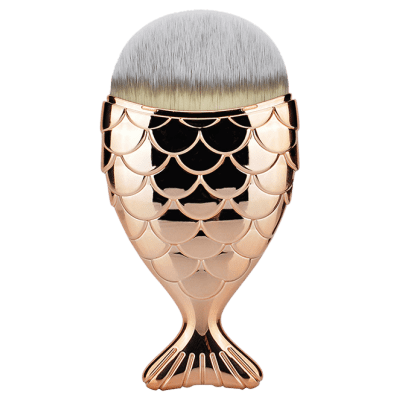 Fiber Wide Mermaid Foundation Brush