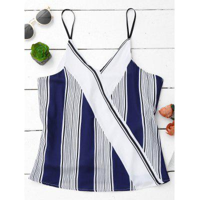 Cami Tank Top With Stripe