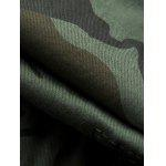 Camouflage Army Cargo Shorts - COFFEE
