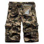 Camouflage Army Cargo Shorts - CAQUI
