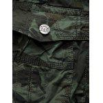 Camouflage Army Cargo Shorts - Хаки
