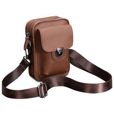 Push Lock Mini Crossbody Bag