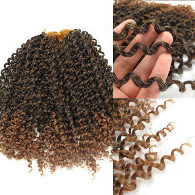 Shaggy Afro Jerry Curl Synthetic Hair Extension