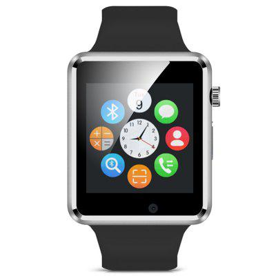 A1 Bluetooth Smart Watch Phone with Pedometer Camera Single SIM 1 6 screen stainless steel bluetooth 3 0 sim camera hd dv recording pedometer 4g memory smart watch phone security msn p20