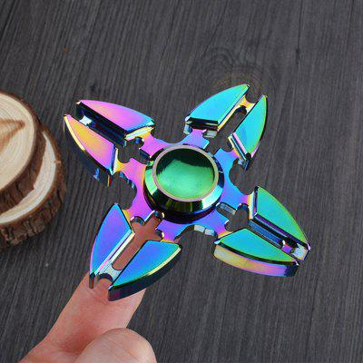 Colorful Focus Toy Crab Clip Shape Fidget Finger Spinner