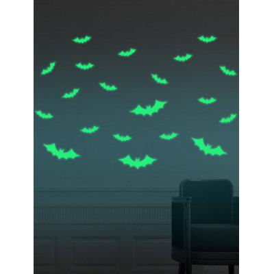Cartoon Bat Noctilucence Wall Stickers For Kids