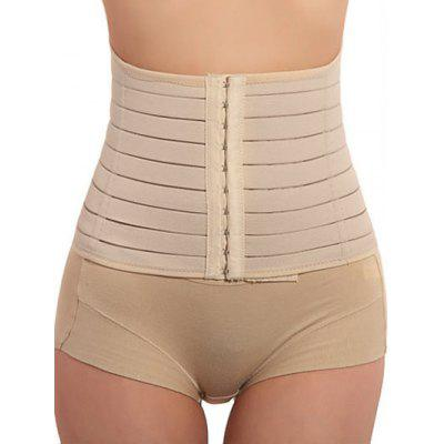 Steel Boned Waist Slimming CorsetLingerie &amp; Shapewear<br>Steel Boned Waist Slimming Corset<br><br>Embellishment: None<br>Material: Spandex<br>Package Contents: 1 x Corset<br>Pattern Type: Solid<br>Weight: 0.1800kg