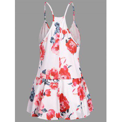 Floral Print Racerback Cami TopTank Tops<br>Floral Print Racerback Cami Top<br><br>Material: Cotton, Polyester<br>Package Contents: 1 x Tank Top<br>Pattern Type: Floral<br>Shirt Length: Regular<br>Style: Casual<br>Weight: 0.2500kg