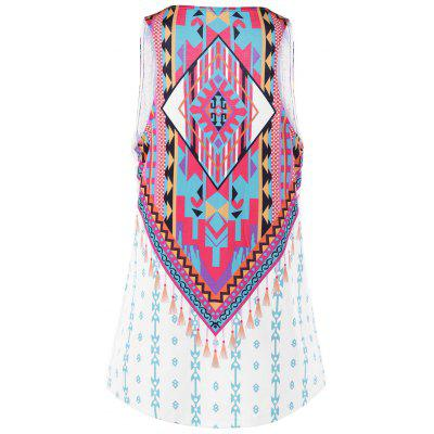 U Neck Indian Print Tank TopTank Tops<br>U Neck Indian Print Tank Top<br><br>Material: Polyester, Spandex<br>Package Contents: 1 x Tank Top<br>Pattern Type: Others<br>Shirt Length: Long<br>Style: Casual<br>Weight: 0.3500kg
