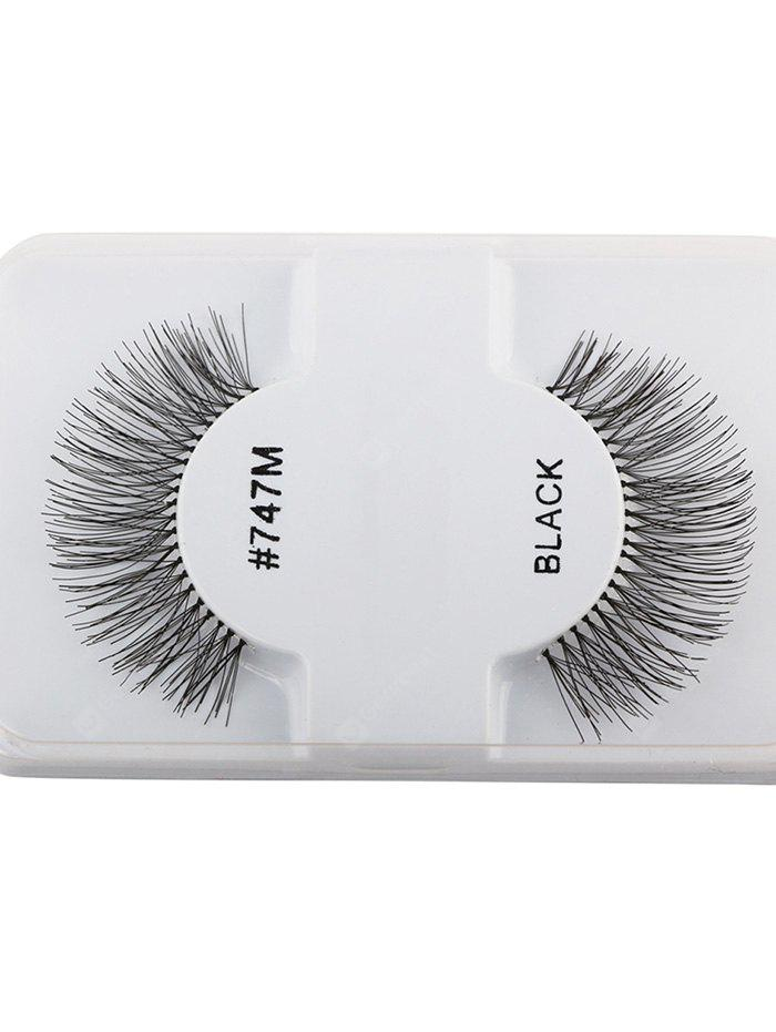 1 Pair Lengthen Dense Artificial Eyelashes