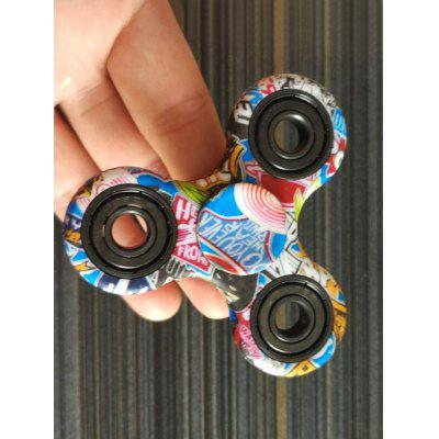 Buy BLUE Patriotic Heart Stress Reliever Focus Toy Fidget Spinner for $2.94 in GearBest store