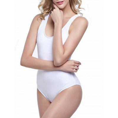 Open Back One Piece Swimwear