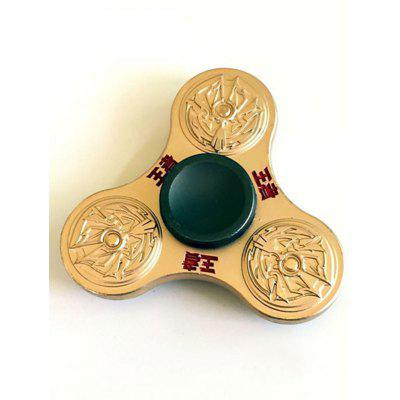 King Stress Relief Toy Finger Gyro Fidget Spinner