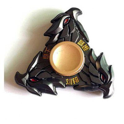 Liu Bang Three Eagle Stress Relief Toy Finger Spinner Gyro