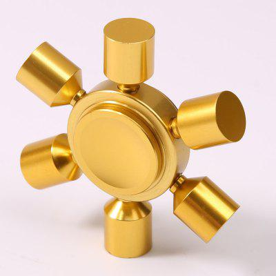 Gearbest Stress Relief Toy Rudder Fidget Metal Spinner