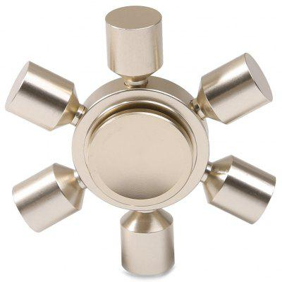 Stress Relief Toy Rudder Fidget Metal Spinner