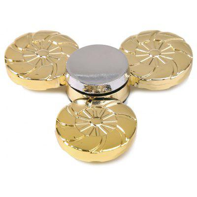 Fidget Toy Metal Wheels Hand Tri-Spinner