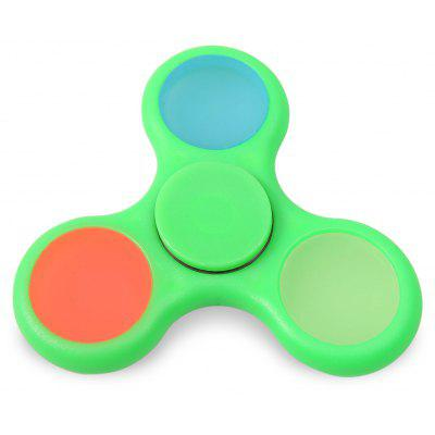Glow in the Dark Tri Fidget Toy Hand Spinner