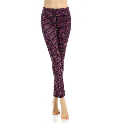 Breathable Patterned Active Leggings