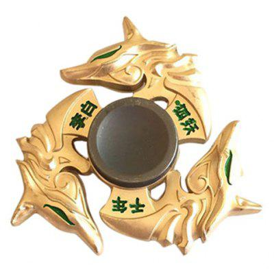 Li Bai Three Dragons Triangle Finger Gyro Hand Spinner