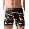 Camouflage Print Swimming Trunks - JUNGLE CAMOUFLAGE
