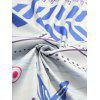 Fringe Round Printed Beach Throw - COLORMIX